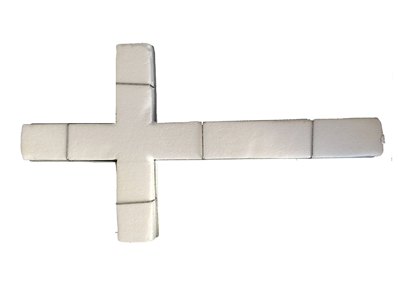 Cross with Foam