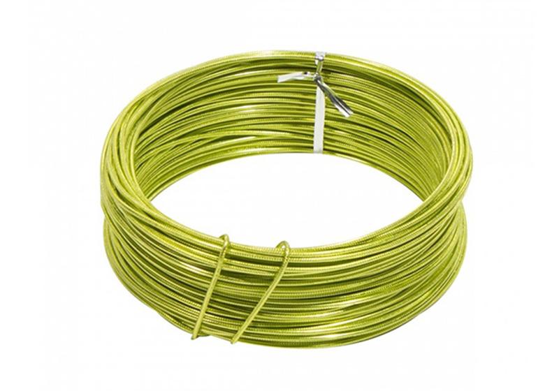 Aluminum Round Embossed Wire-001