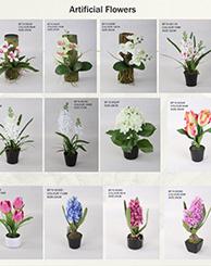 Artificial Flowers-Catalog
