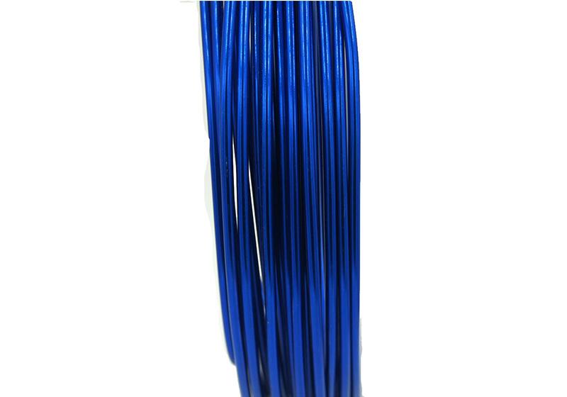 Aluminum Round Wire-004-Blue