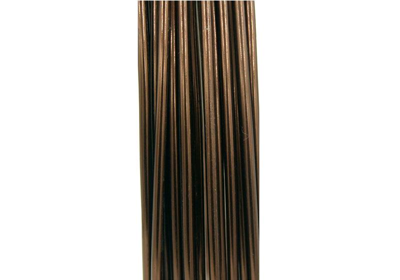 Aluminum Round Wire-006-Chocolate