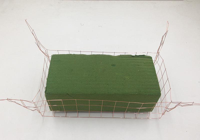 Wire Basket for Foam-001