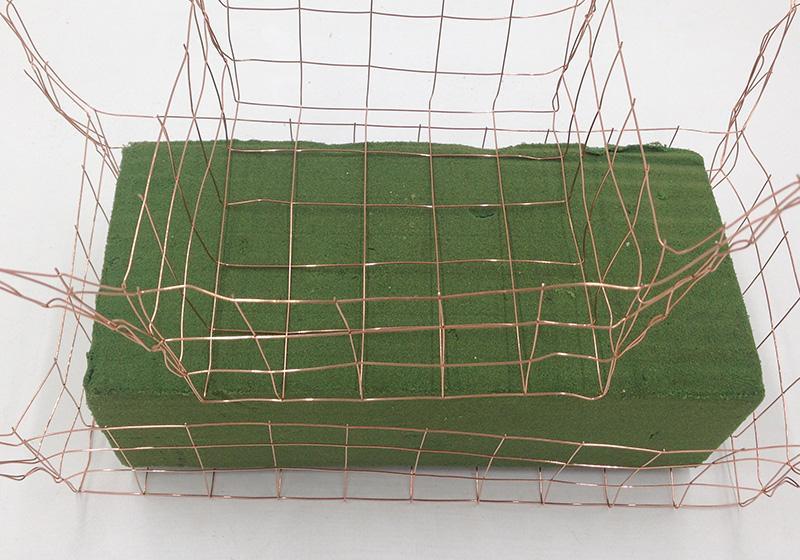 Wire Basket for Foam-006
