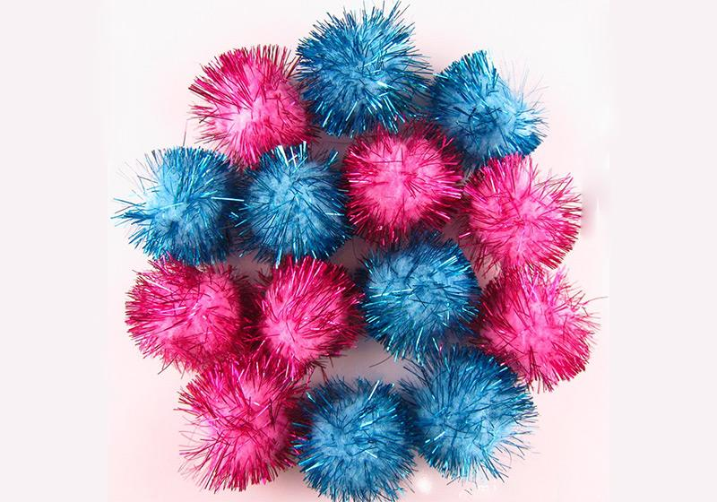 Glitter Pompom-001