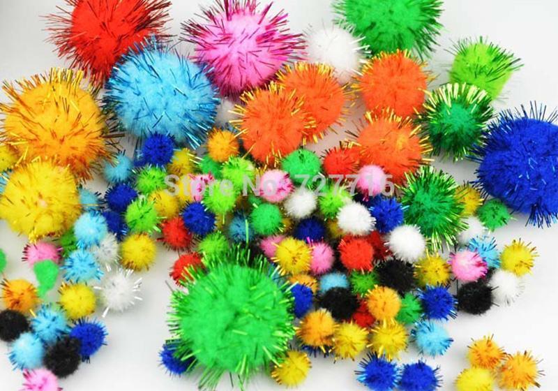 Glitter Pompom-009