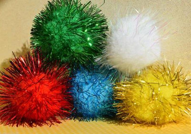 Glitter Pompom-010